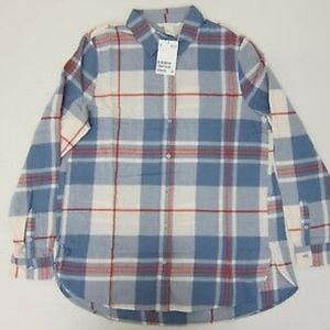 ❄️H&M women's plaid shirt